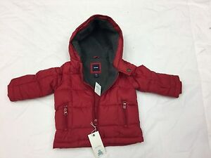 e37f28185506 Baby GAP Boy Puffer Jacket Red Coat Size 12-18 months