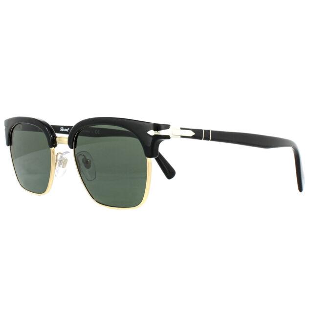43f38e610a Sunglasses Persol Original Po3199s 95 31 53 Black Green for sale ...