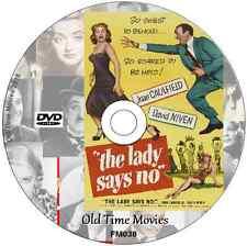 The Lady Says NO  - David Niven, Joan Caulfield  Film on DVD 1952