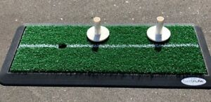 Golf-Abschlagsmatte-fuer-Garten-oder-Terrasse-mit-2x-Gummitees-Silverline-15