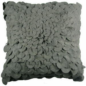 Miraculous Details About Design Accents Llc Puffy Dahlia Felt Throw Pillow Theyellowbook Wood Chair Design Ideas Theyellowbookinfo
