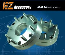 "2 Wheel Adapters 6 Lug 5.5 To 8 Lug 6.5 Spacers 6x5.5/8x6.5 2"""