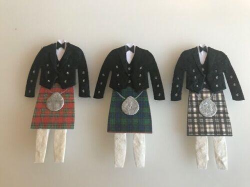 Kilt Usher Page Boy Personalised Scottish Thank You Best Man Card Groomsman