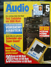 AUDIO 5/93.DYNAUDIO ARBITER,ACURUS A 250,BRYSTON 3 B,COUNTERPOINT SOLID one,