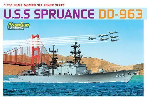 Dragon 7084 1//700 USS DD-963 Spruance Destroyer