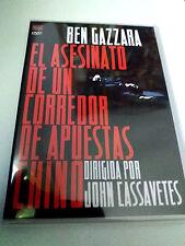 """DVD """"EL ASESINATO DE UN CORREDOR DE APUESTAS CHINO"""" COMO NUEVO JOHN CASSAVETES"""
