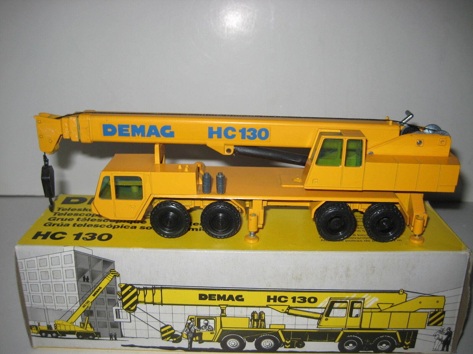 DEMAG DEMAG DEMAG HC 130 Autokran #240 NZG 1:50 neuf dans sa boîte | La Conception Professionnelle  974a94