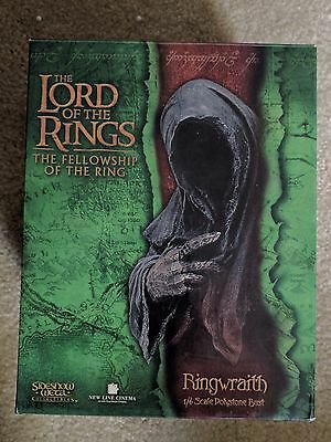 Sideshow Weta RINGWRAITH BUST Lord of the Rings LotR 1/4 Scale Polystone Rare