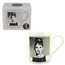 Icons Collection Fine China Mug Boxed - Audrey Hepburn