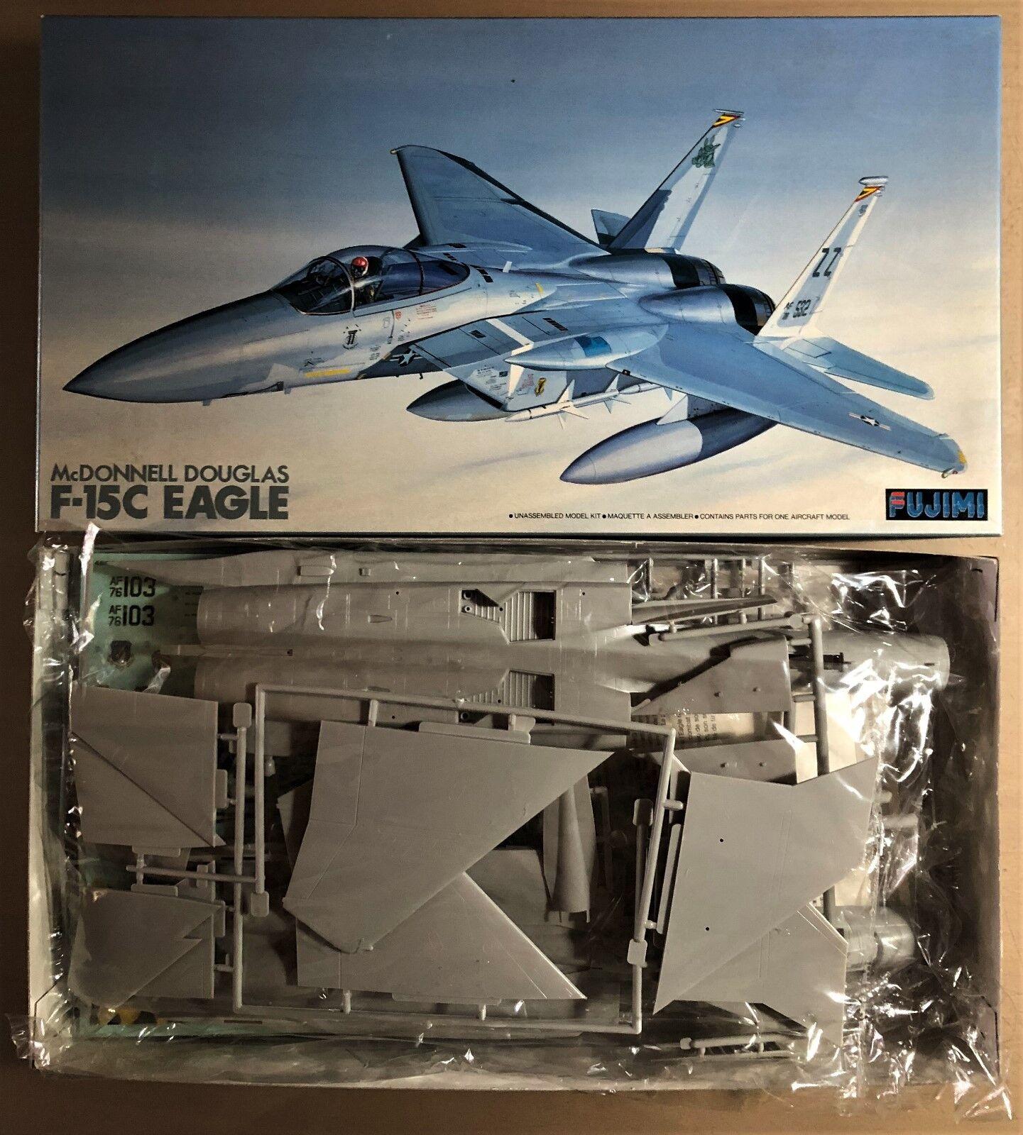 FUJIMI 32004-1500 - McDONNELL DOUGLAS F-15C EAGLE - 1 48 PLASTIC KIT