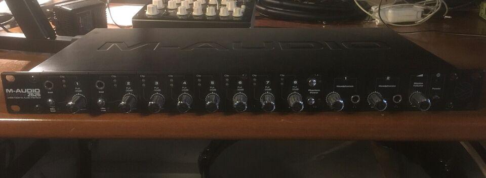 Audio interface, M-Audio Profire 2626