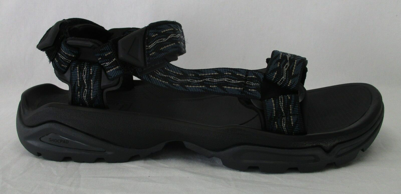 Teva Mens Terra Fi 4 Sandals 1004485 Firetread Midnight Size 13