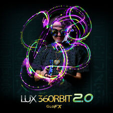 GloFX Lux 360 Orbit 2.0 - 4 Light LED Orbital - Rave Flow Prop Lightshow