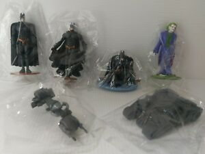 Batman The Dark Knight blind bag 2008 figure full set of 6 use as cake topper