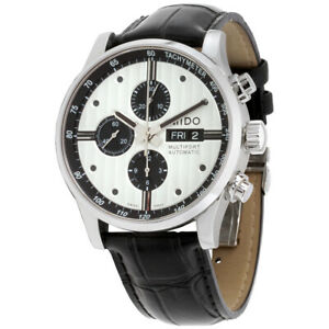 Mido-Multifort-Automatic-Silver-Dial-Men-039-s-Watch-M0056141603101-Open-Box