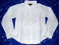 Ralph Laurent White Blouse size 110 5 years