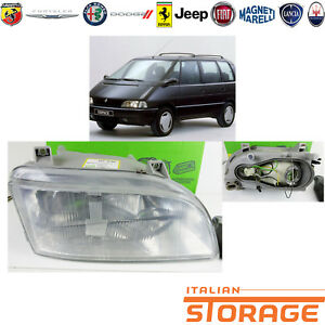 Renault-Espace-Mens-1991-a-1997-Headlight-H4-H1-Right-New-Valeo-085247
