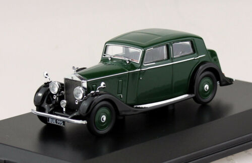 Rolls Royce 25//30 Thrupp /& Maberly grün 1:43 Oxford Modellauto R25002