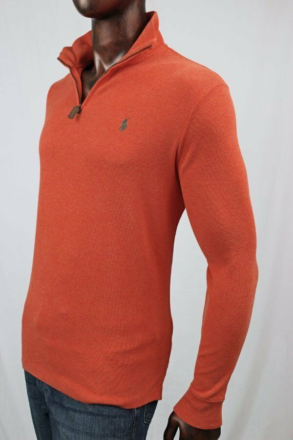POLO by Ralph Lauren Half Zip Cotton Sweater
