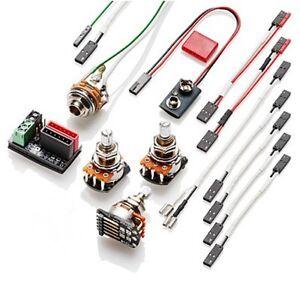 emg solderless wiring kit for pj bass 654330800733 ebay rh ebay com EC-1000 EMG Wiring Kit EMG Afterburner Installation