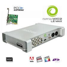 Matrox MXO2 LE Max I/O-Box mit PCIe-Karte schneller Encoder H.264 MP4 HD-SDI