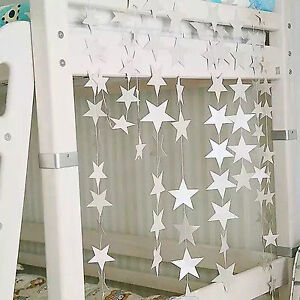 4-M-Star-Suspendu-Strings-Birthday-Party-Festival-maison-dortoir-Decoration-3-Couleurs