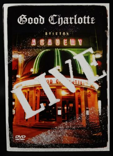 1 of 1 - GOOD CHARLOTTE Live Brixton Academy DVD AS NEW