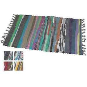 Doormat-Multicoloured-Chindi-Style-Mat-Vibrant-Colour-Striped-Design-2-Sizes-NEW