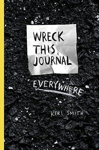 1 of 1 - Wreck This Journal Everywhere by Keri Smith, Paperback book, 2014, Penguin Books