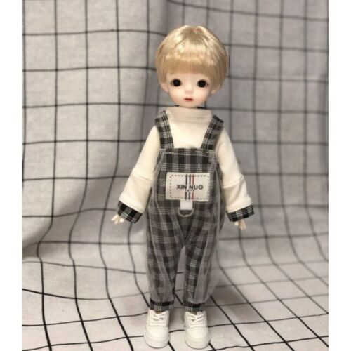 baby/'s back belt pants suit For 1//6 BJD Doll Dollfie Outfits Handmade PF