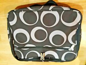 Details About Wally Bags Cosmetic Bag Ogee Toiletry Kit