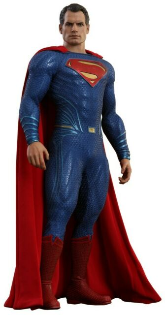 """Hot Toys DC Justice League SUPERMAN 12"""" Figure 1/6 Scale Henry Cavill MMS465"""