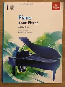 PIANO-EXAM-pieces-2019-2020-Grade-1-ABRSM-and-CD