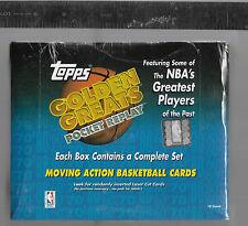 1998-99 Topps Golden Greats Basketball Hobby Set All 18 HOF Ers PSA Ready