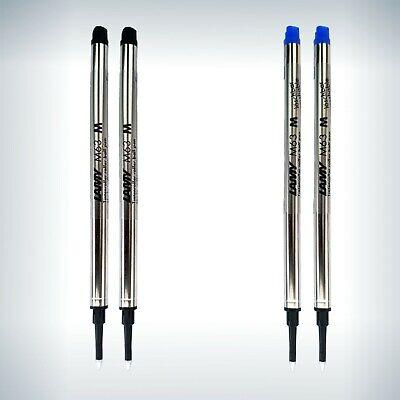 Lamy M 66 Tintenroller Tintenschreiber Mine blau Rollerball pen 2 Stück