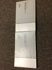 2004 NISSAN MAXIMA Owners Manual FACTORY OEM BOOK 04 DEALERSHIP GLOVE BOX x