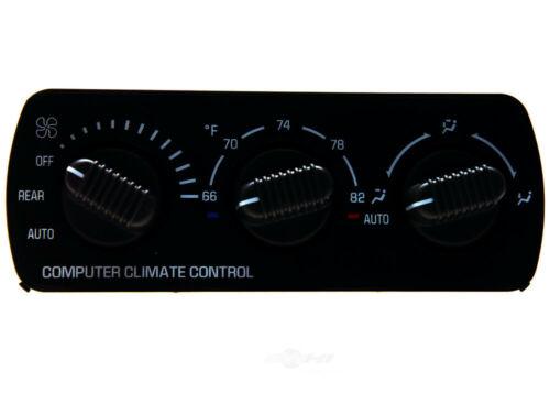 HVAC Control Panel ACDelco GM Original Equipment 15-72625 Reman