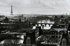 PARIS - ROOFTOPS SKYLINE POSTER - 24x36 TRAVEL CITYSCAPE FRANCE 4513