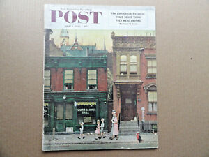 Saturday-Evening-Post-Magazine-April-4-1953-Complete-Norman-Rockwell-Cover