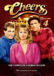 Cheers-Season-4-DVD-2005-4-Disc-Set-Ted-Danson-Woody-Harrelson