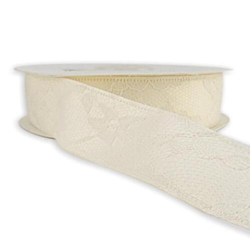 Buddly crafts lace satin bridal ribbon 2m