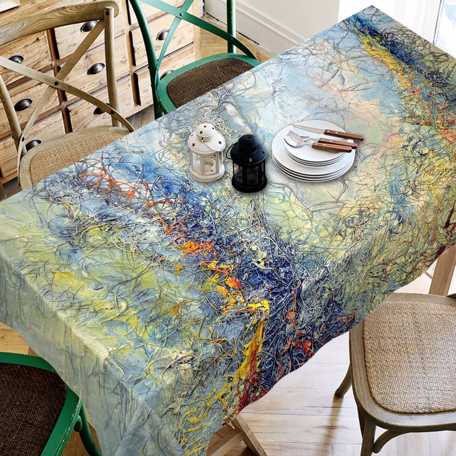 3D Painting 99 Tablecloth Table Cover Cloth Birthday Party Event AJ WALLPAPER AU
