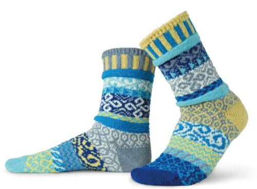 AIR LADIES COTTON ODD SOCKS 100/% RECYCLED KNITTED SOCKS BY SOLMATE SOCKS