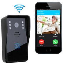 Wireless WiFi Video Door Phone Doorbell Remote Phone Intercom IR Night Vision US
