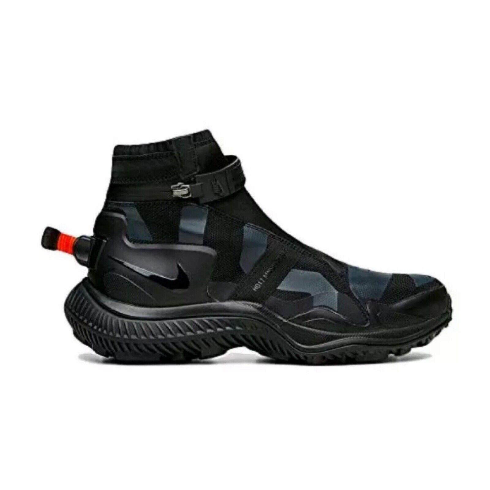 Men's Nike Nikelab NSW Gaiter Boot Black Anthracite AA0530 001 Size 9