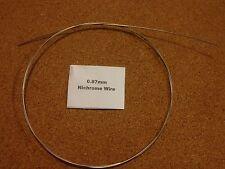 0.87mm X 1m 20SWG nicromo Resistencia De Alambre Elemento de Calefacción de corte de espuma caliente