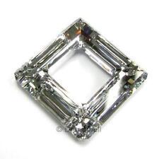 SWAROVSKI Crystal Element 4439 Square Frame Ring Pendant Variable Color & Size