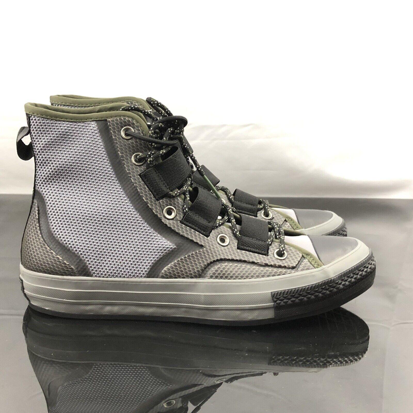 Converse Mens Chuck 70 Tech Hiker High Top Grey Green Black 162358C Sz 12