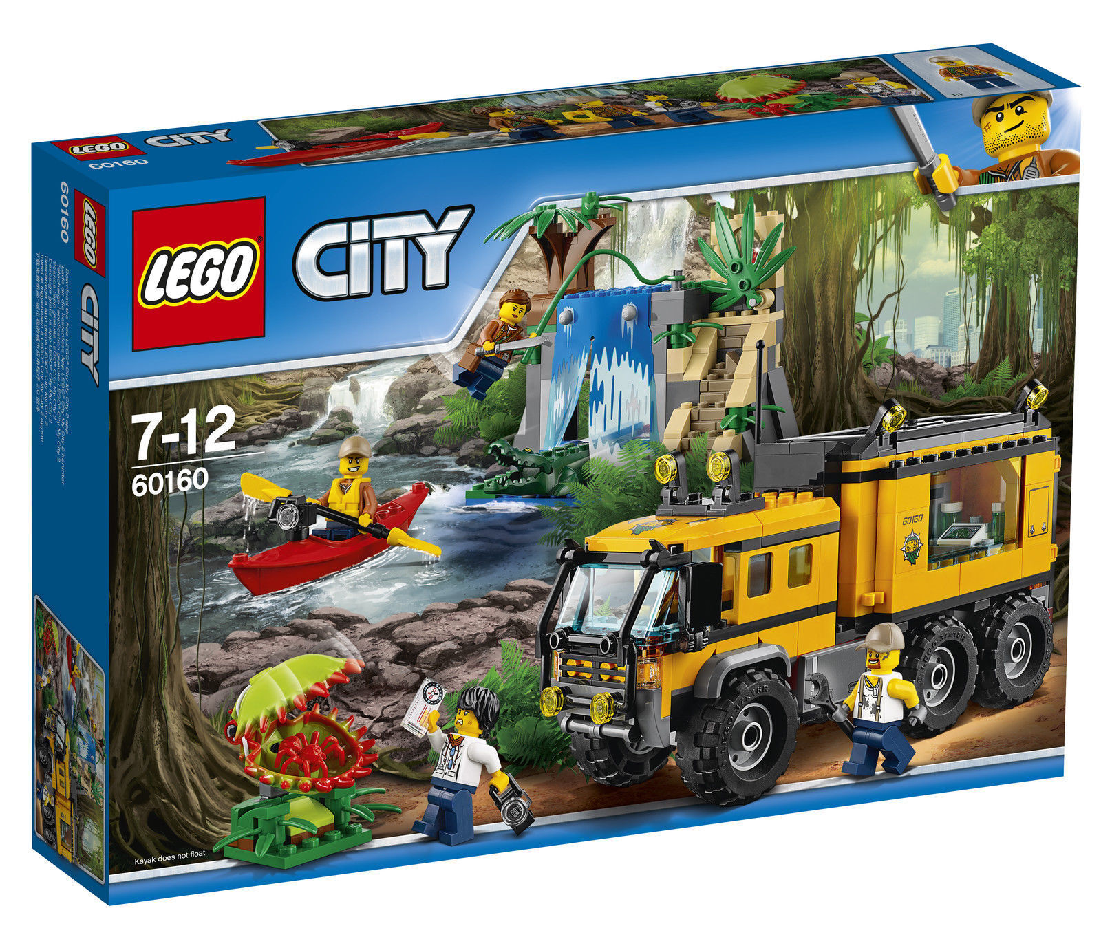 NEW LEGO City Jungle Mobile Lab SET 60160 400+ PIECES 3