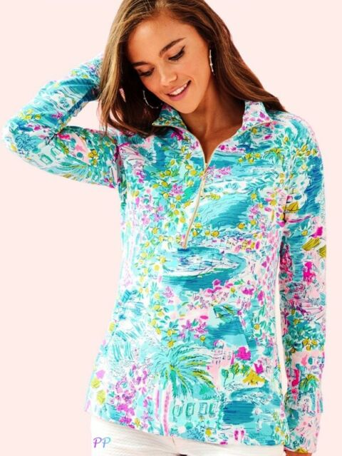 0506d0497311bd Lilly Pulitzer UPF 50 Skipper Popover Postcards From Positano M for ...